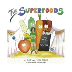 The Superfoods is a children's book written by my 6 year old son. They are a bunch of fun, super vegetables coming to the rescue and save children from bad sugars ;-). The Superfoods are in English, Spanish, French and German - all in one book! So no excuse for no one not to get it ;-). www.healthcoachingparis.com