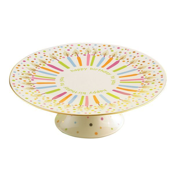 lenox cake stand cake plate have a happier birthday with this