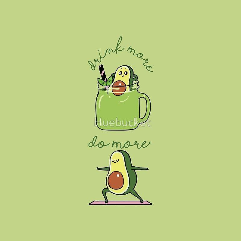 Drink More Smoothie Do More Yoga Avocado Throw Pillow By Huebucket In 2021 Avocado Art Cute Avocado Avocado Cartoon Cartoon cute avocado wallpapers