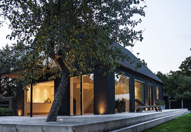 Deck nature architectonic integration courtyardterrace