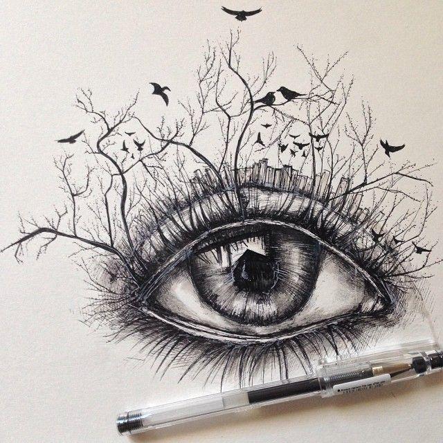 Afbeeldingsresultaat voor pen sketches