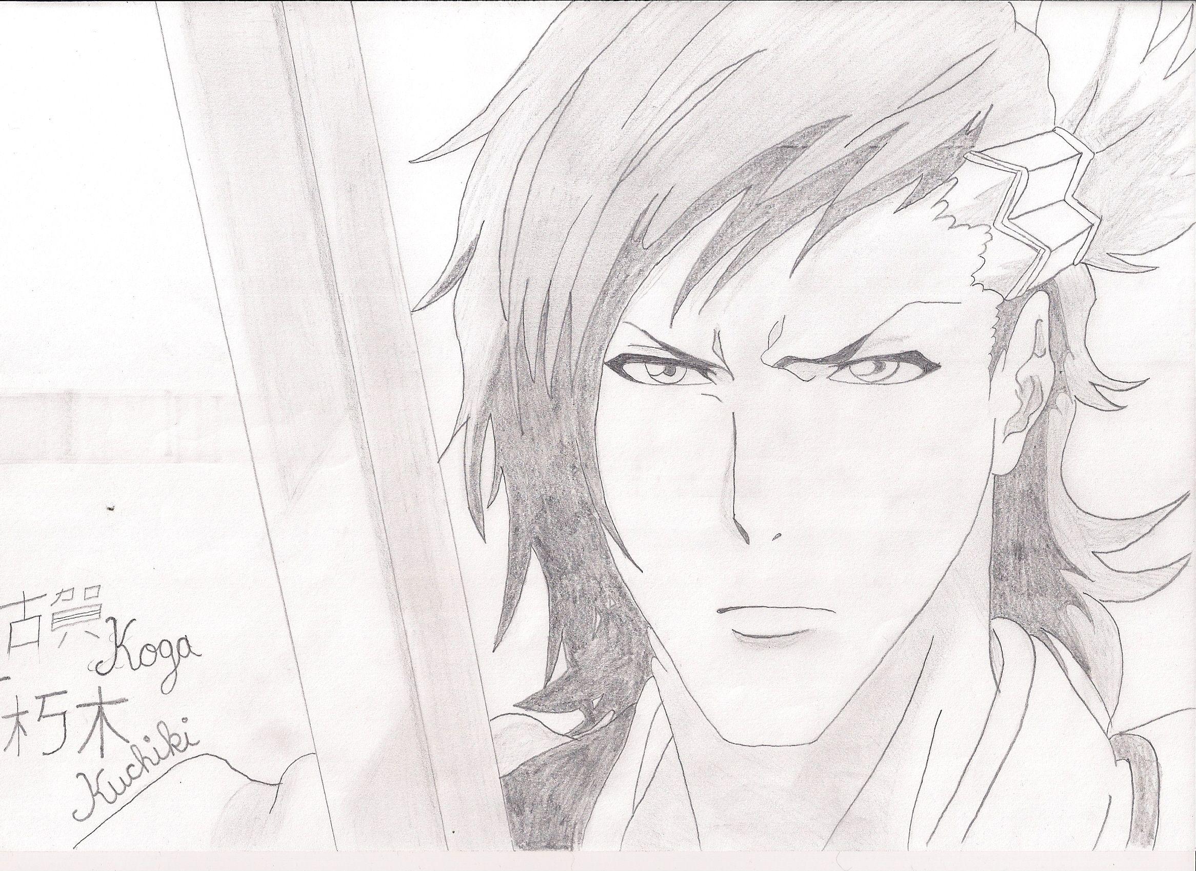 Kuchiki Koga from Bleach the Rebellion of Zanpakoutos HandMade