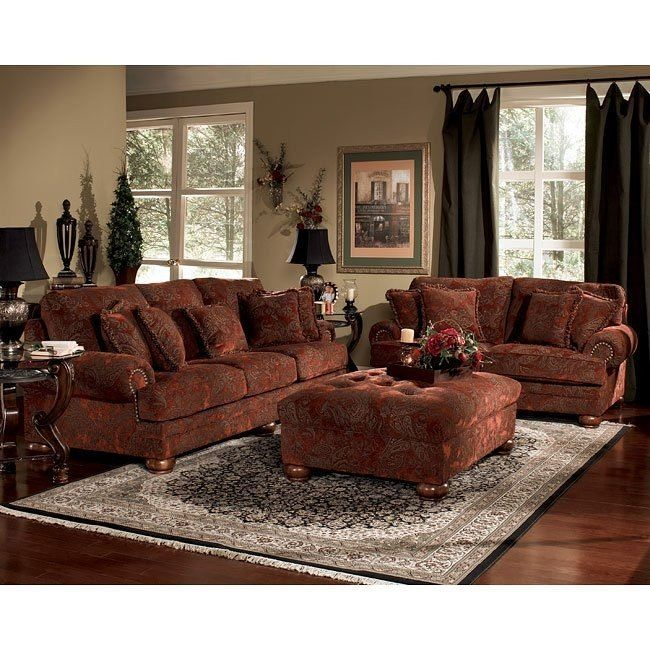 Furniture Charming And Elegant Cheap Living Room Sets: Burlington - Sienna Living Room Set In 2019