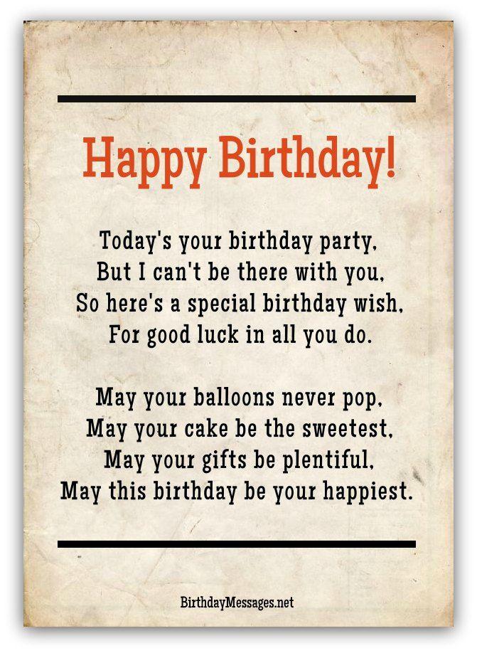 Birthday Poems Hundreds of Happy Birthday Poems