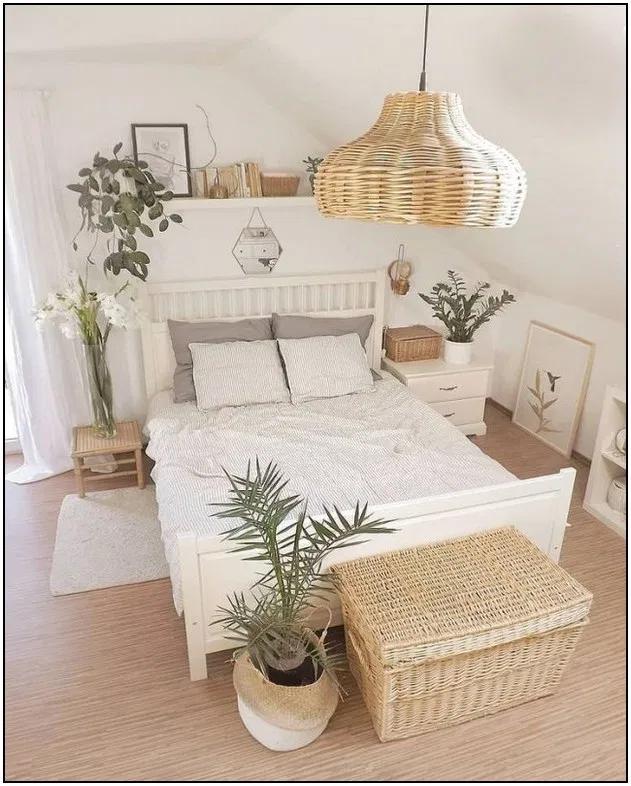 161 idées de chambres minimalistes avec des meubles bon marché page 14