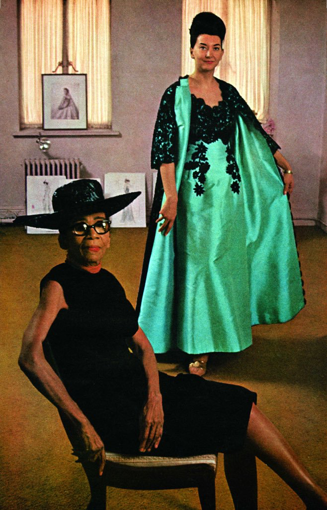 Ann Lowe Was The First Black Major Fashion Designer She Is Most Famous For Designing Jackie Kennedy S Fashion Black Fashion Designers African American Fashion