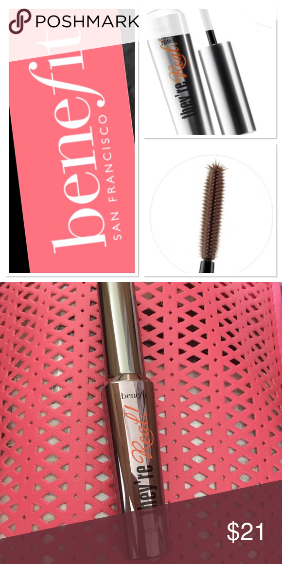 0abb09f1b96 Benefit They're Real Mascara Brand: Benefit Cosmetics Size: 0.3 oz  Condition: