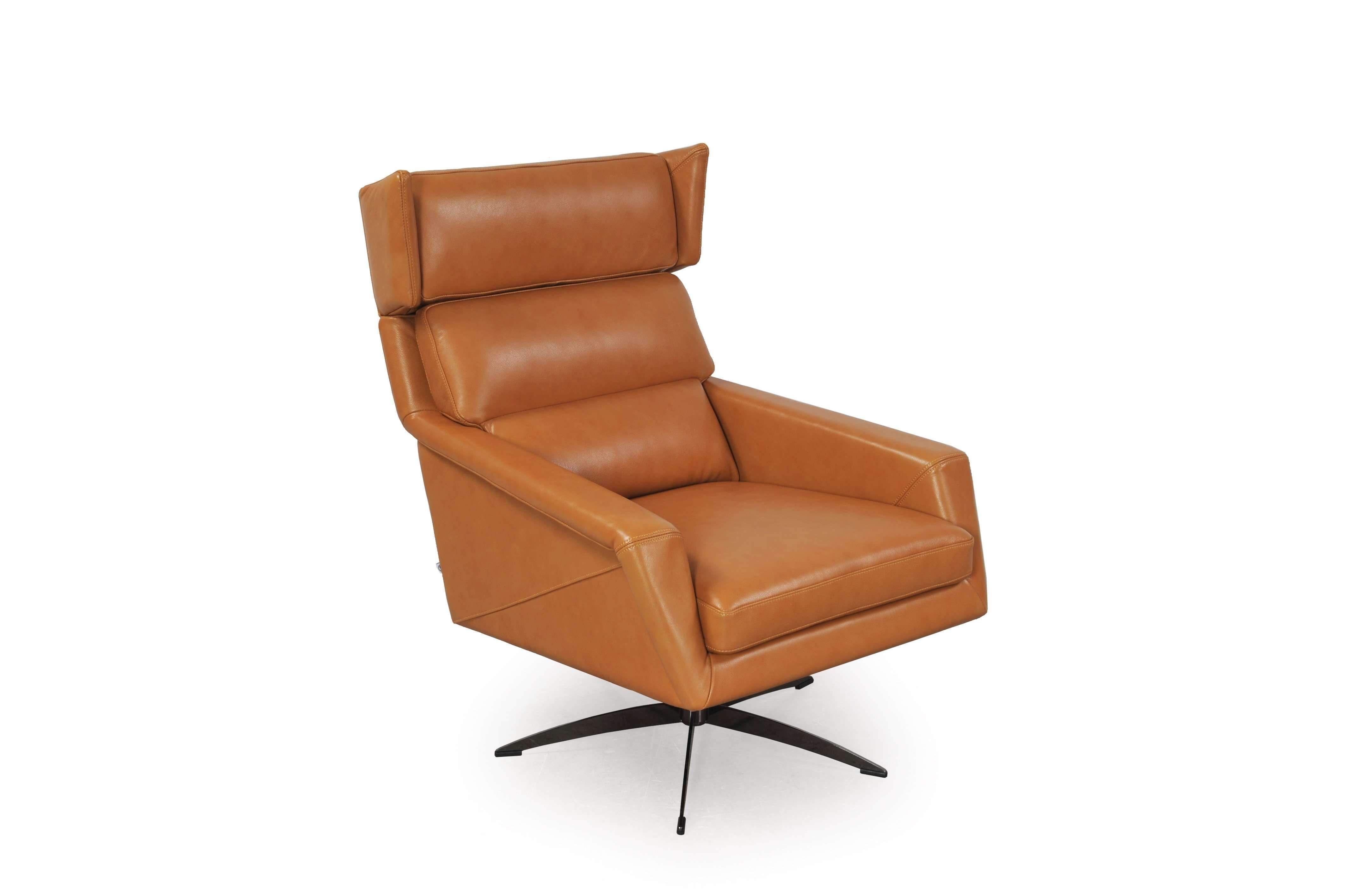Thoth Leather Modern Swivel Chair In 2020 Modern Swivel Chair Modern Swivel Swivel Armchair