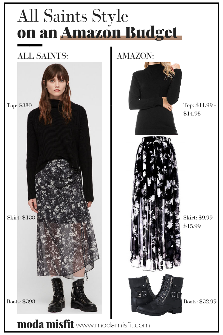 How to Get All Saints Style on an Amazon Budget