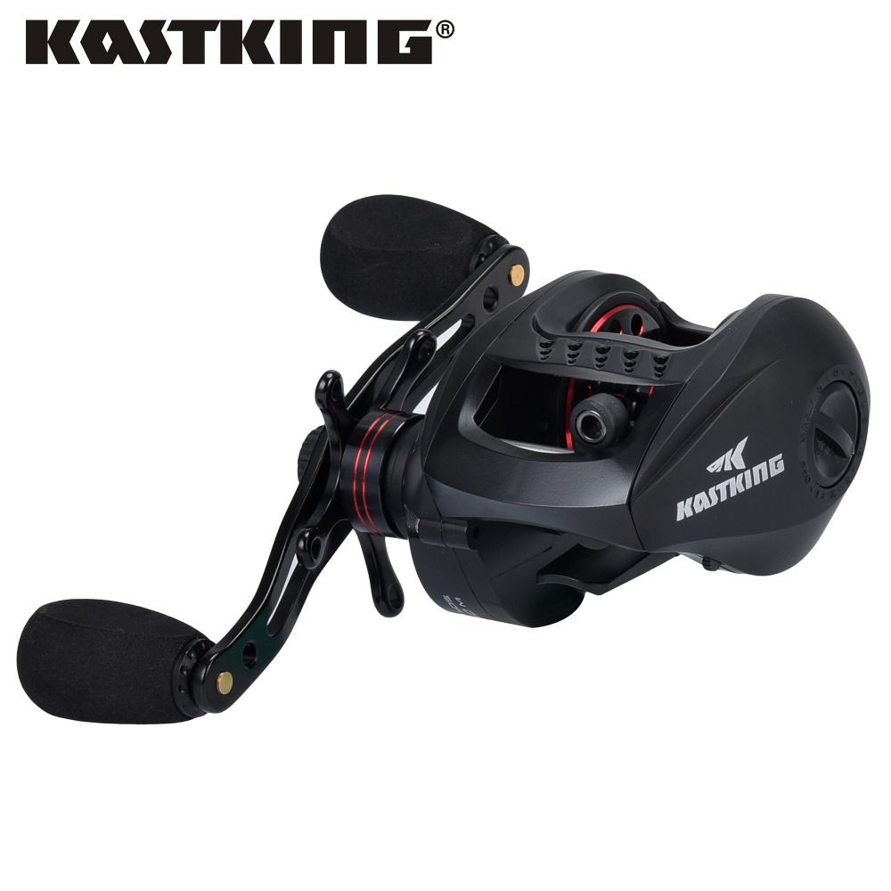 KastKing Speed Demon 9.3:1 Gear Ratio 12+1 Ball Bearings Baitcasting Reel Ultralight Body Bait Casting Fishing Reel