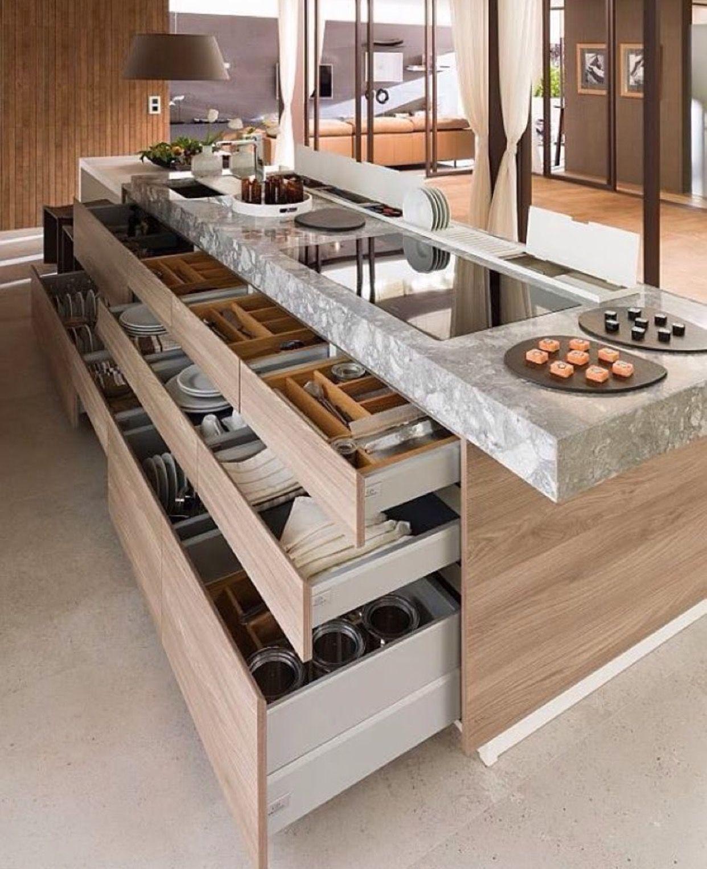 Die Moderne Kücheninsel Ist Von Der Küchenlandschaft Nicht Mehr  Wegzudenken. Woran Liegt Das Und Ob In Der Tat Die Küche Mit Kochinsel  Praktisch Gestaltet