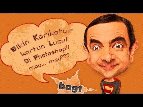 Cara Simple Bikin Karikatur Kartun Lucu Di Photoshop Bag 1 Photoshop Karikatur Lucu
