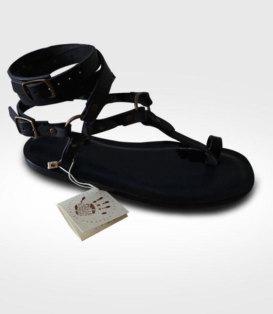 d9b3310417c4 Sandali Artigianali da Uomo in Cuoio e Vera Pelle al Vegetale Handmade Men s  Sandals natural tanned leather Handgefertigen naturgegebertes Leder Mann ...