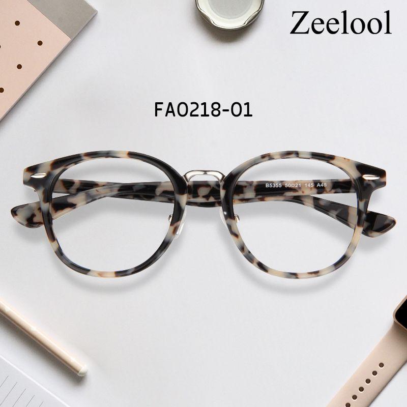 39b170dcc2 Lesley Round Glasses FA0218-01