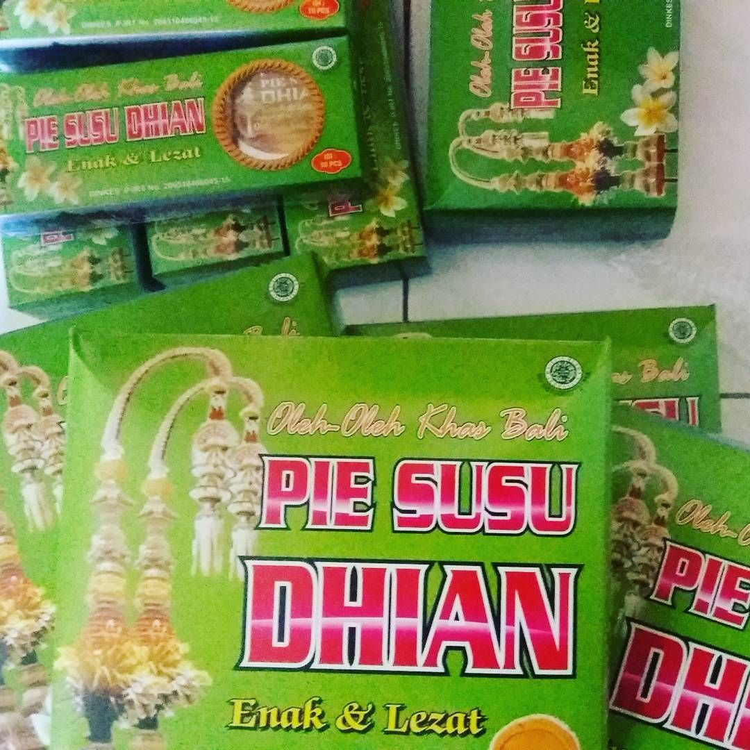 Tuk Buruan Belii Pie Susu Dhian Dengan Aneka Rasa Ada Original Asli Enak Bali Keju
