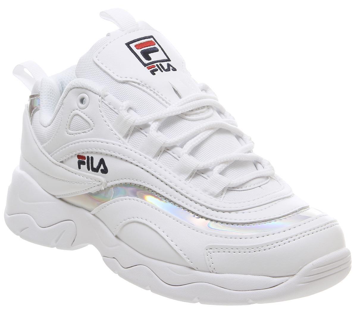 Fila Fila Ray Trainers White