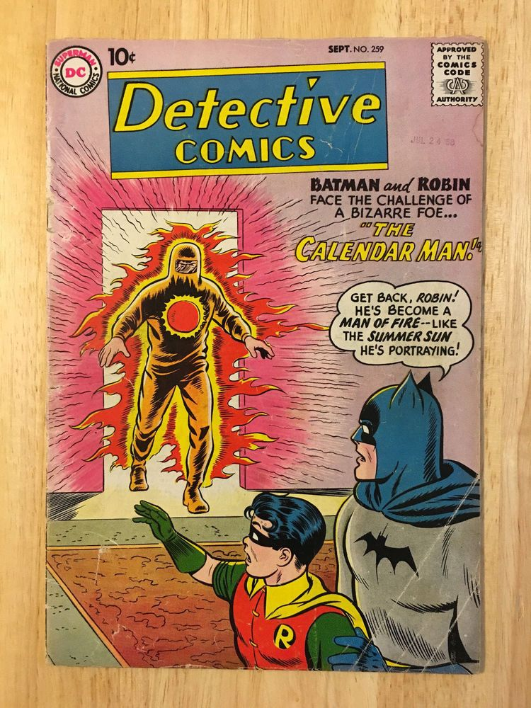 Image result for Detective Comics #259