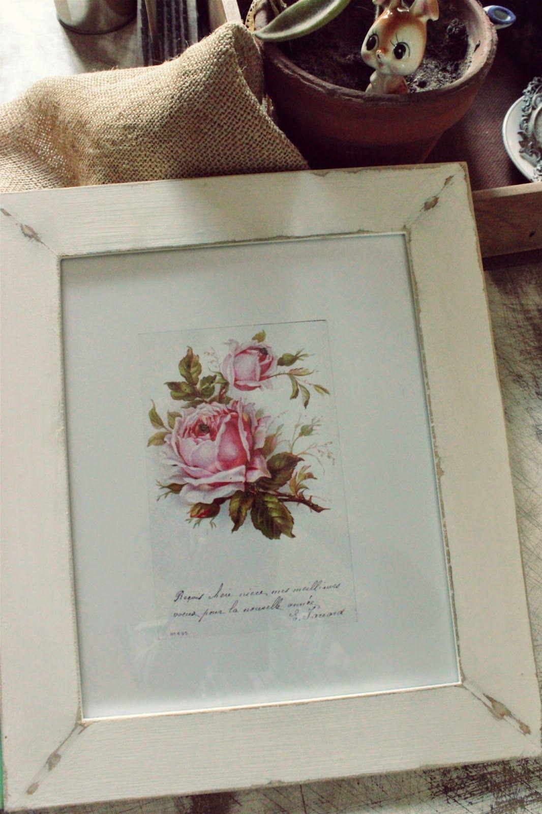 Tienda La Florinda: Cuadros rosas vintage | Portarretratos, marcos y ...