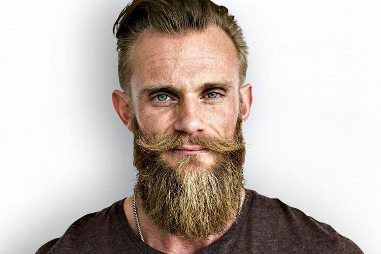 how to straighten beard with heated brush
