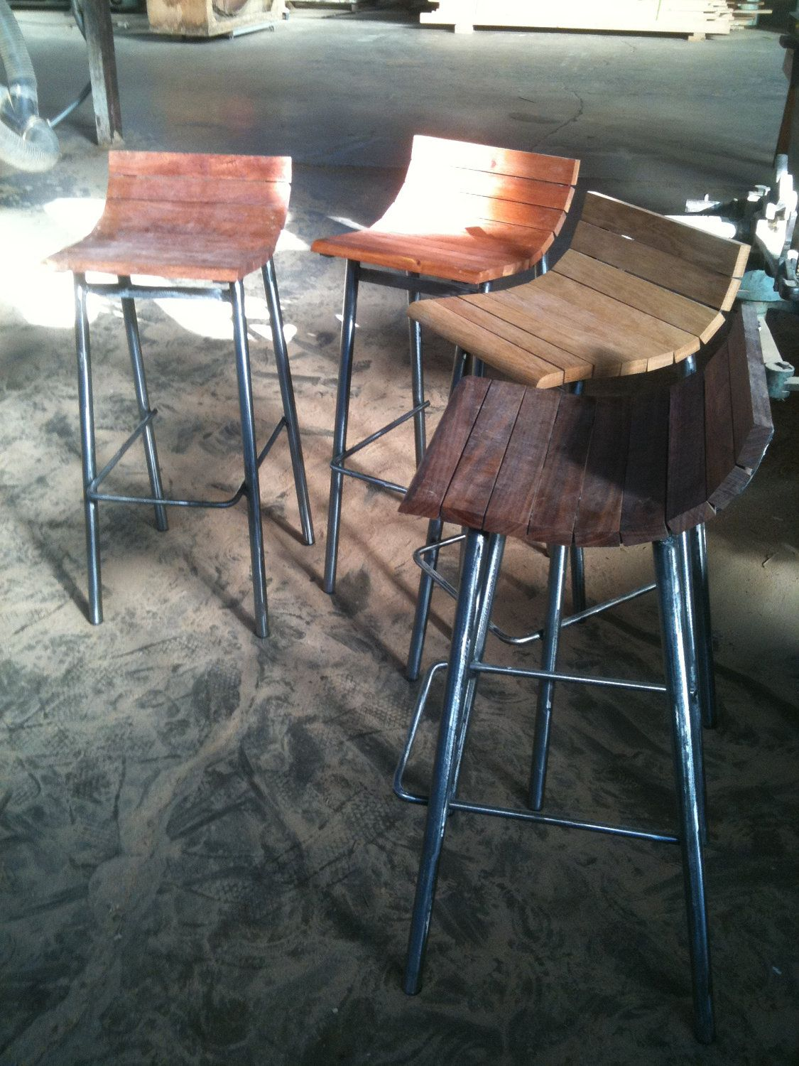 Bancos Muebles Bar Stool Recycled Muebles Rejas Bancos