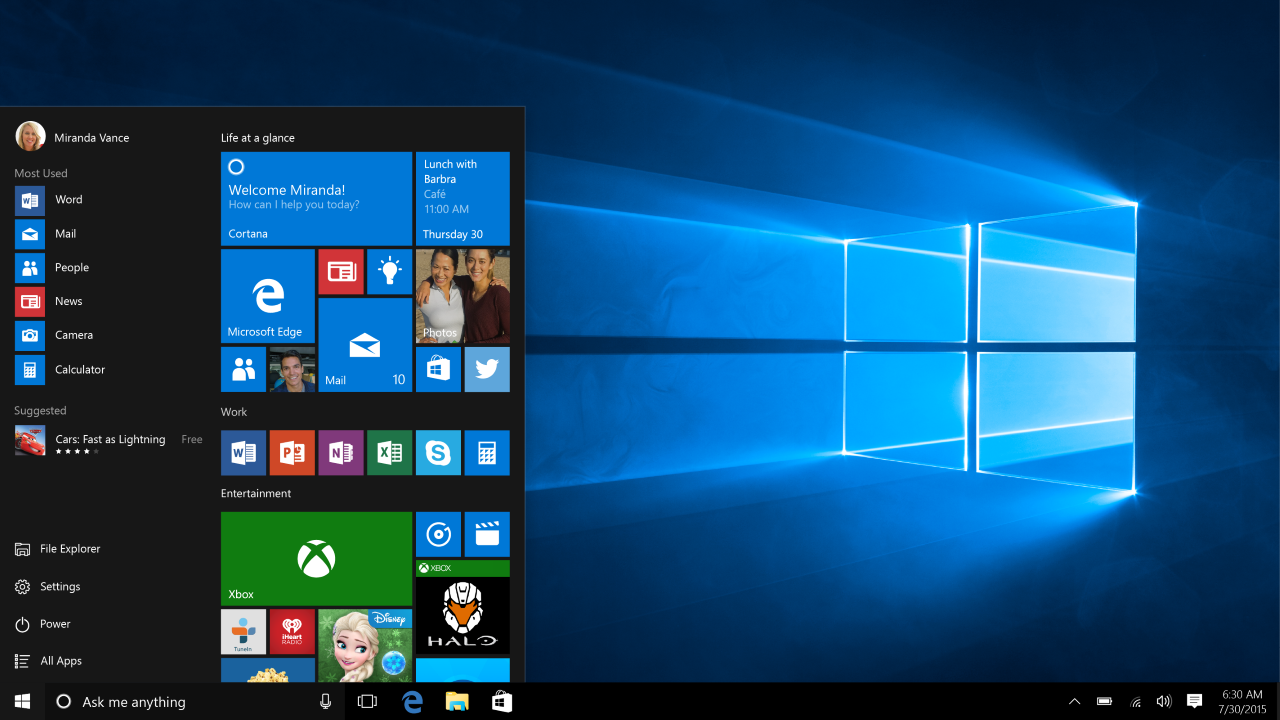 With The Introduction Of Windows 10 2018 Version Came With New Features For Helping You In Pursuing Your Pas Windows 10 Microsoft Windows 10 Microsoft Windows