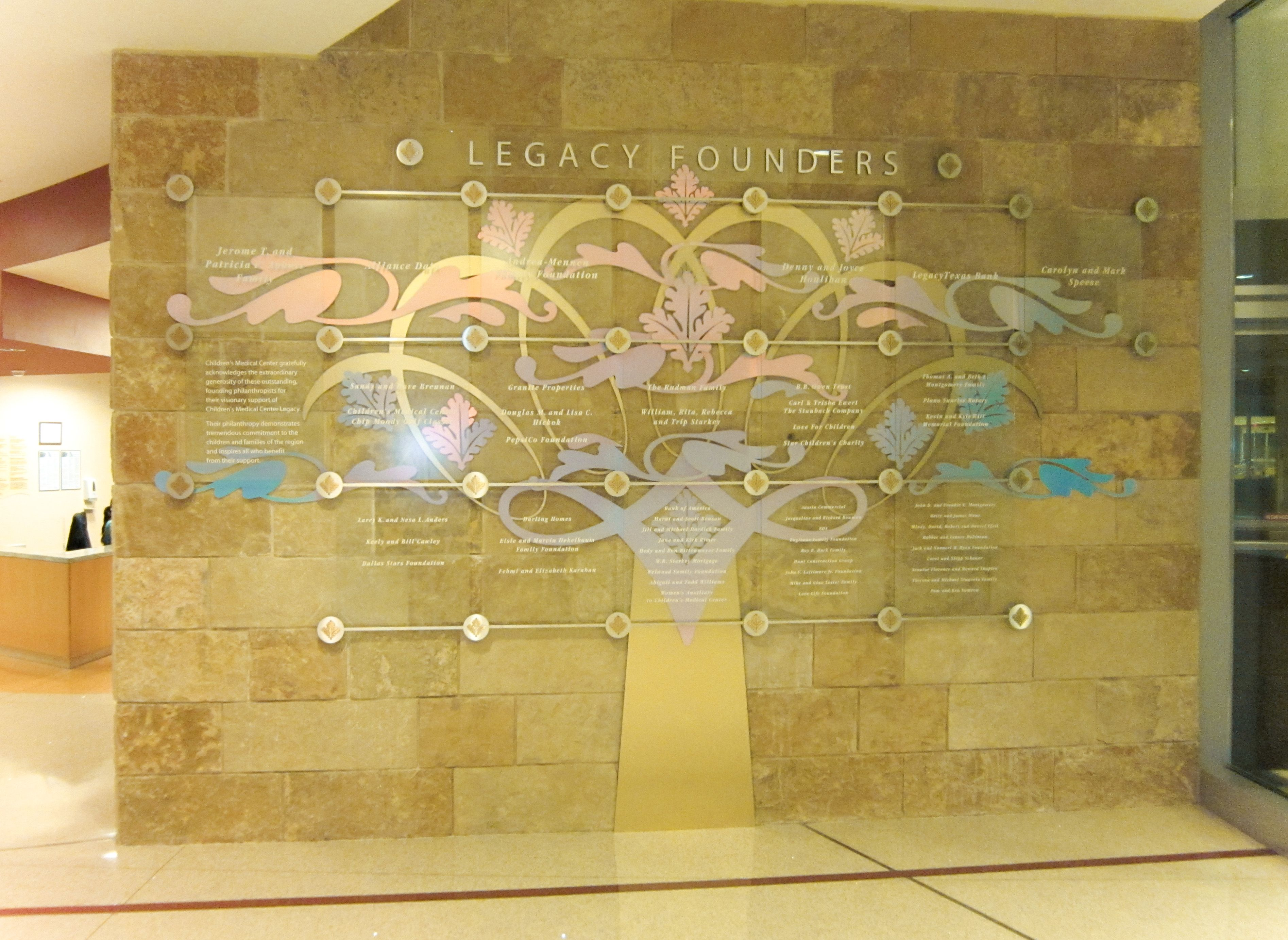 An Art Nouveau Tree Flourish to Honor Children\'s Health Legacy ...
