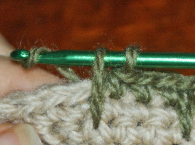 Learn How To Do A Single Crochet Spike Stitch With This Detailed