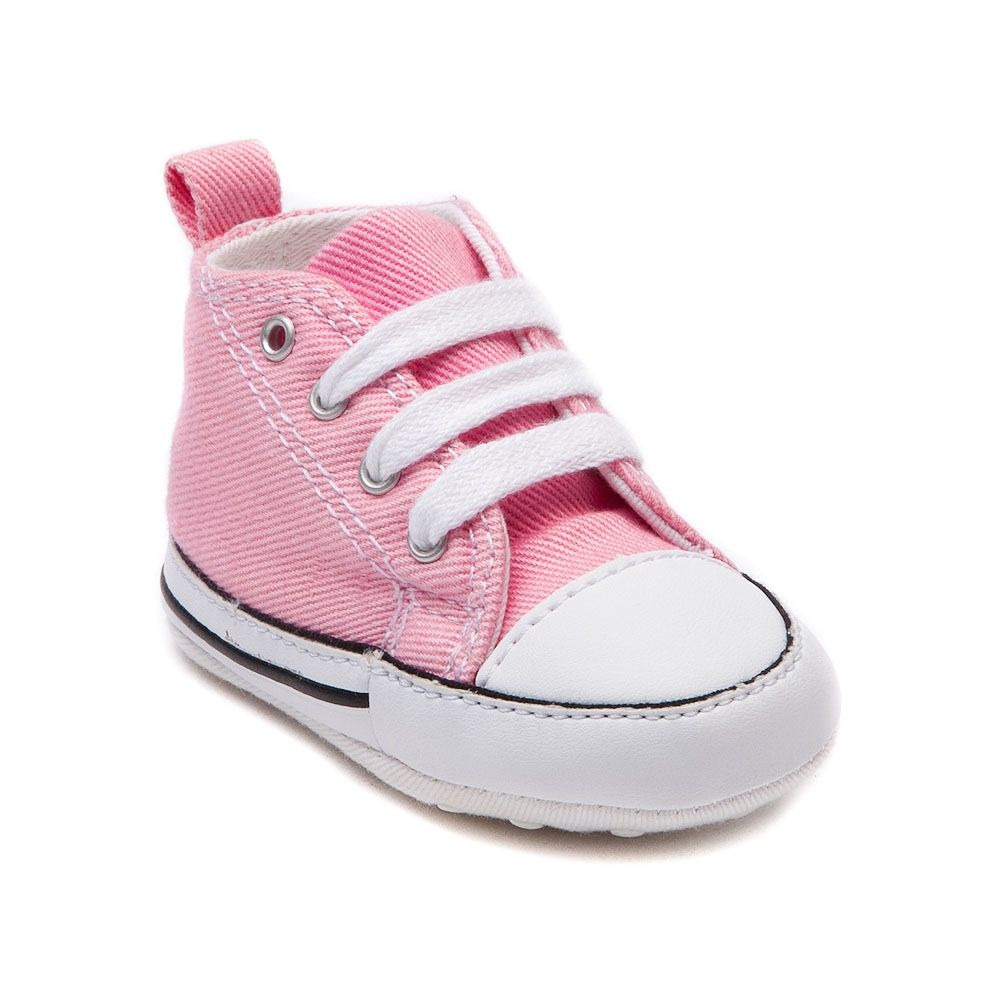 Full Colours Girls Converse First Star Crib Basketball Infant Pink Shoes Wholesaler