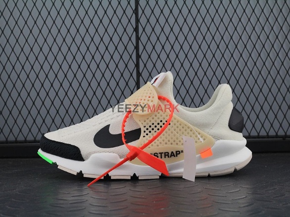 outlet store b8cb9 c0632 Virgil Abloh Off-White x Nike Sock Dart White Black SIZE  EUR36-45