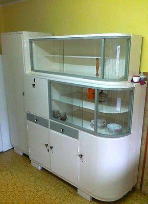 60er Küchenschrank, Speiseschrank, Bar, Vitrine, Sixties