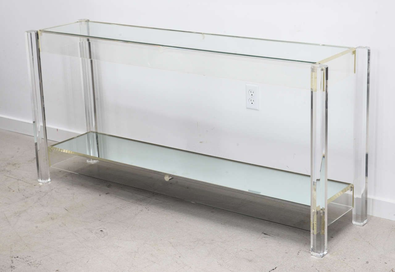 20 Beautiful Glass Entry Table Ideas Small Console Tables