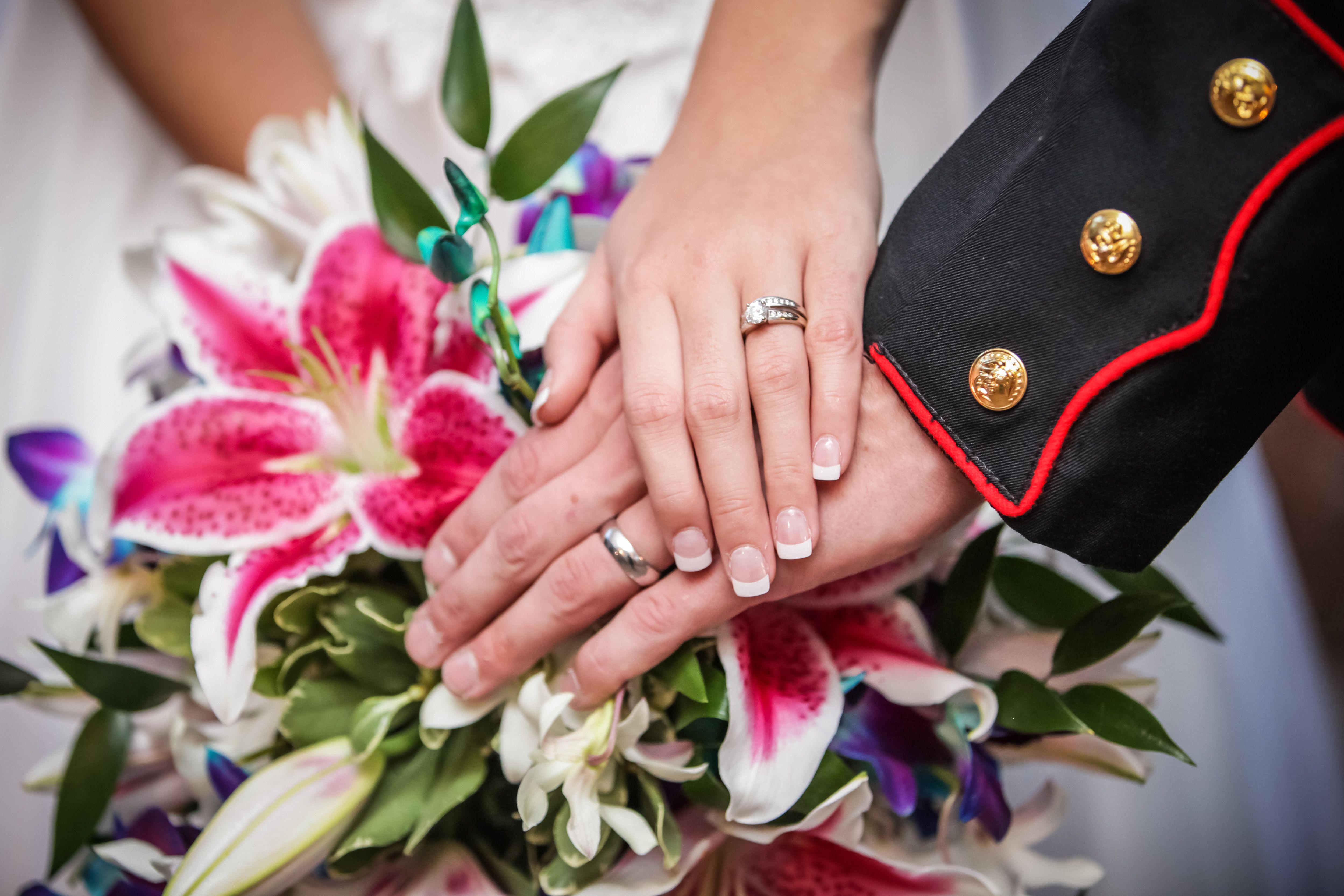 Wedding Rings, Marine Corps Wedding, Wedding Ideas | Vow Renew Ideas ...