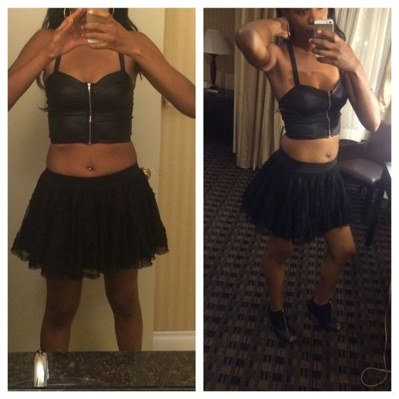 Puff Skirt Can use as a skirt or under-skirt for a dress! Charlotte Russe Skirts Circle & Skater