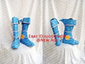 NEW Yu-Gi-Oh Dark Magician Girl Cosplay Boots Shoes Any Size