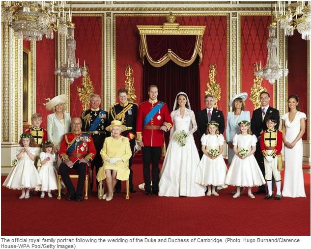 Royal Family Official portrait