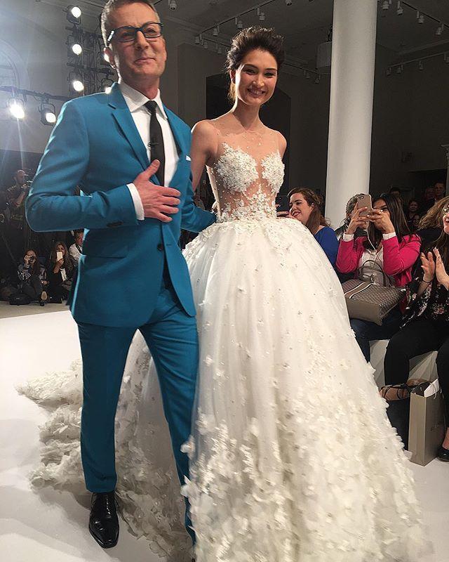 Randy Fenoli In 2020 Klienfeld Wedding Dresses Randy Fenoli Dresses Wedding Gown Styles
