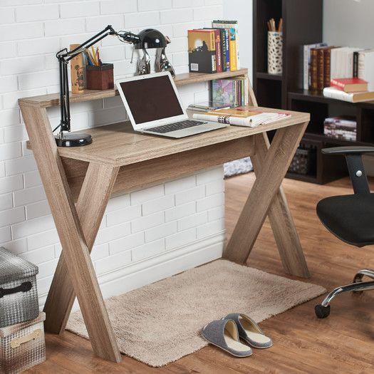 Desk Designs Diy: Tedford Adjustable Glass Standing Desk