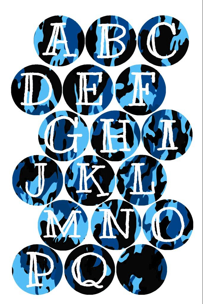 Blue camo alpha BCI