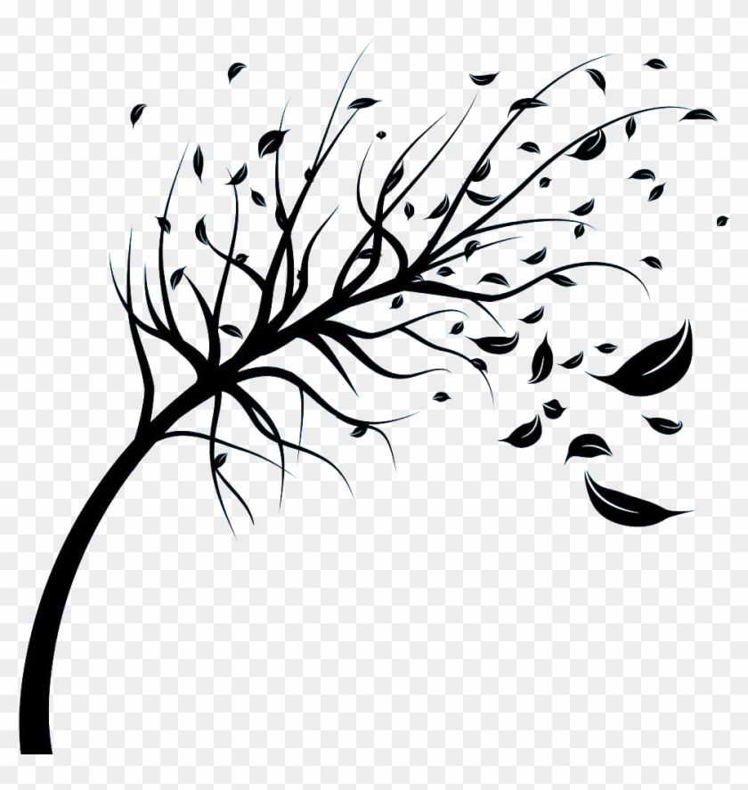 Download And Share Clipart About Wind Stock Photography Royalty Free Tree Clip Art Leaves Blowing In The Wind Drawing Fin Wind Drawing Cartoon Leaf Wind Art