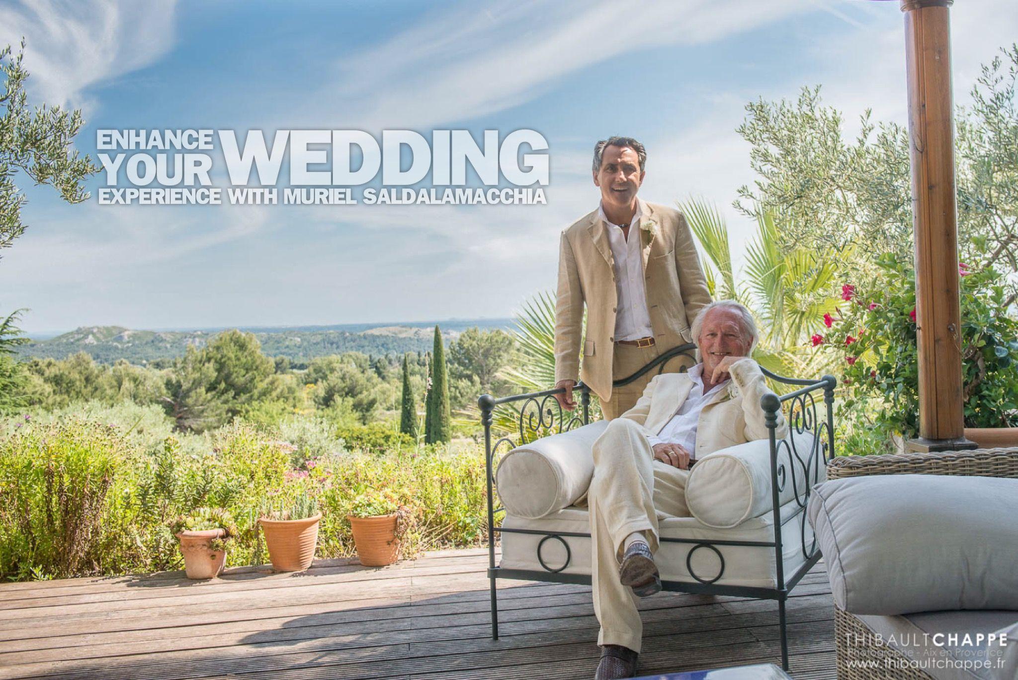 Enhance your wedding experience ! #outdoorwedding #Provence #weddingprovence #lesriresdejulie #MurielSaldalamacchia #WeddingPlannerProvence