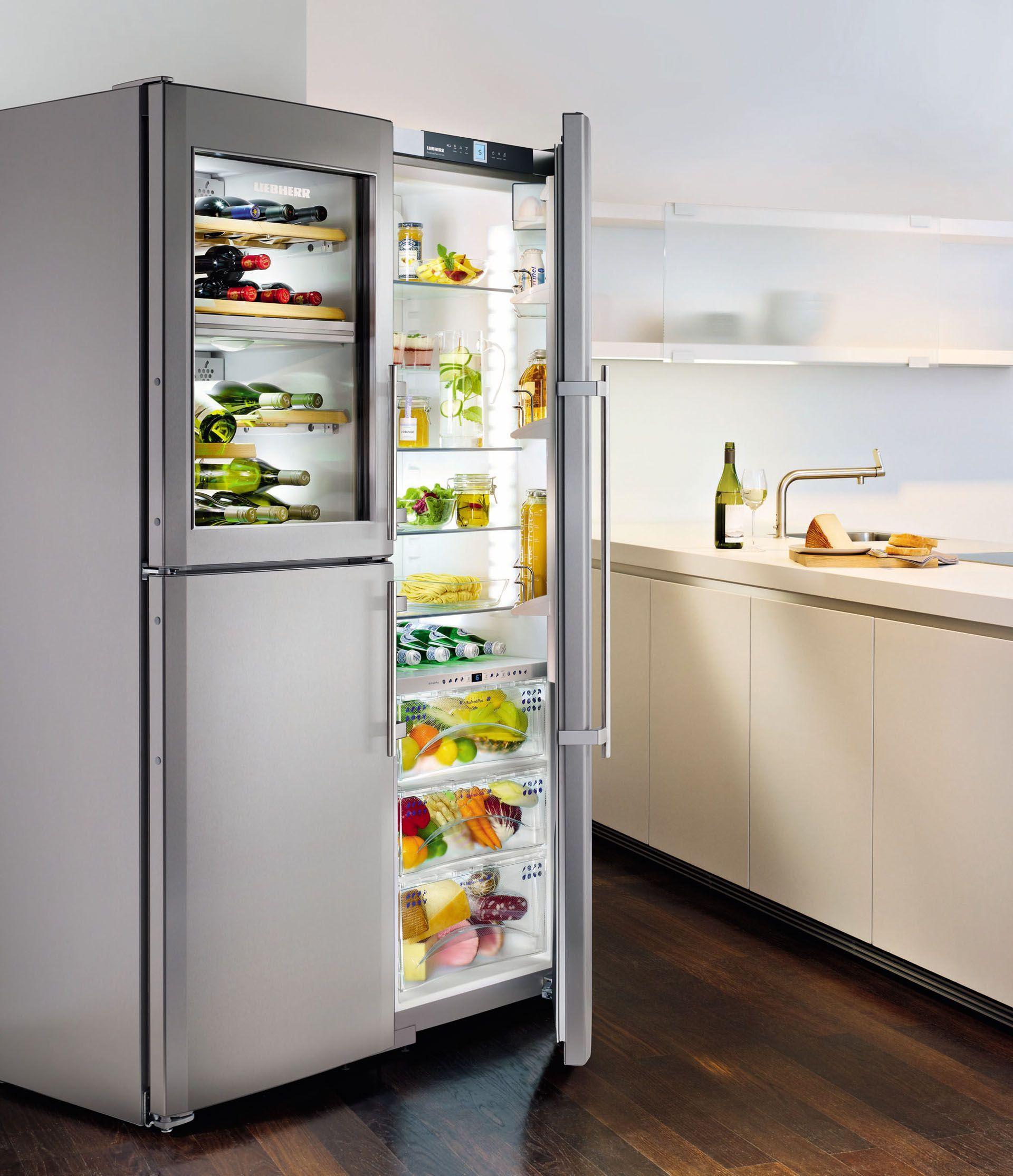 Atag KA2411DW side by side koelkast met wijnkoeler / Atag KA2411DW ...