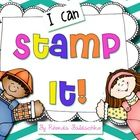 Kids love stamps! This pack will have your students practising sounds, words and letters in a fun way. It will cover a center activity for a year! ...