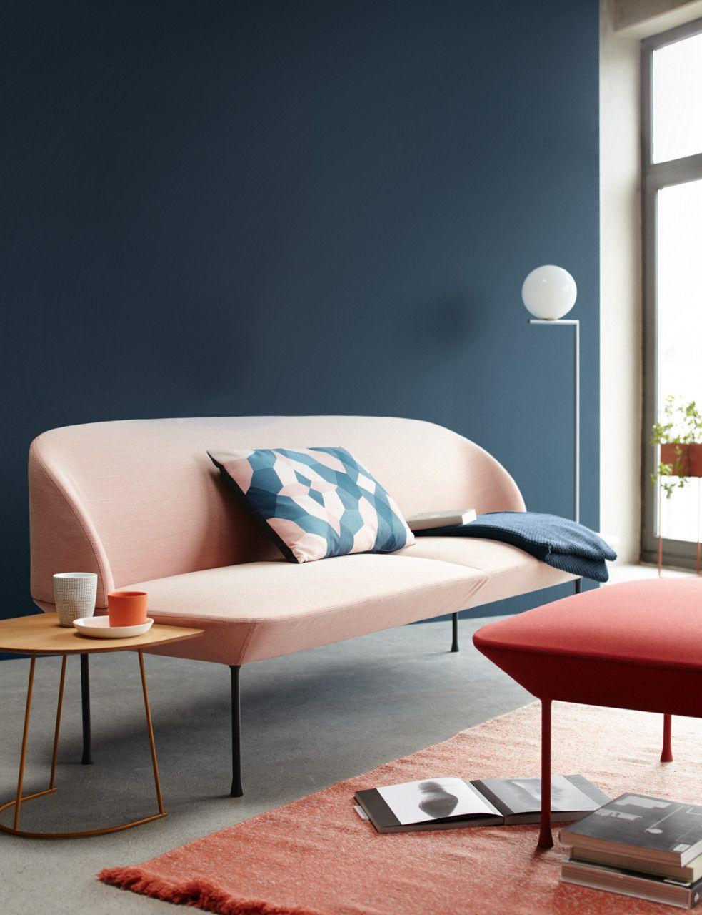 Wandfarbe Trendfarbe Blueberry | Schöner Wohnen Kollektion #schönerwohnen