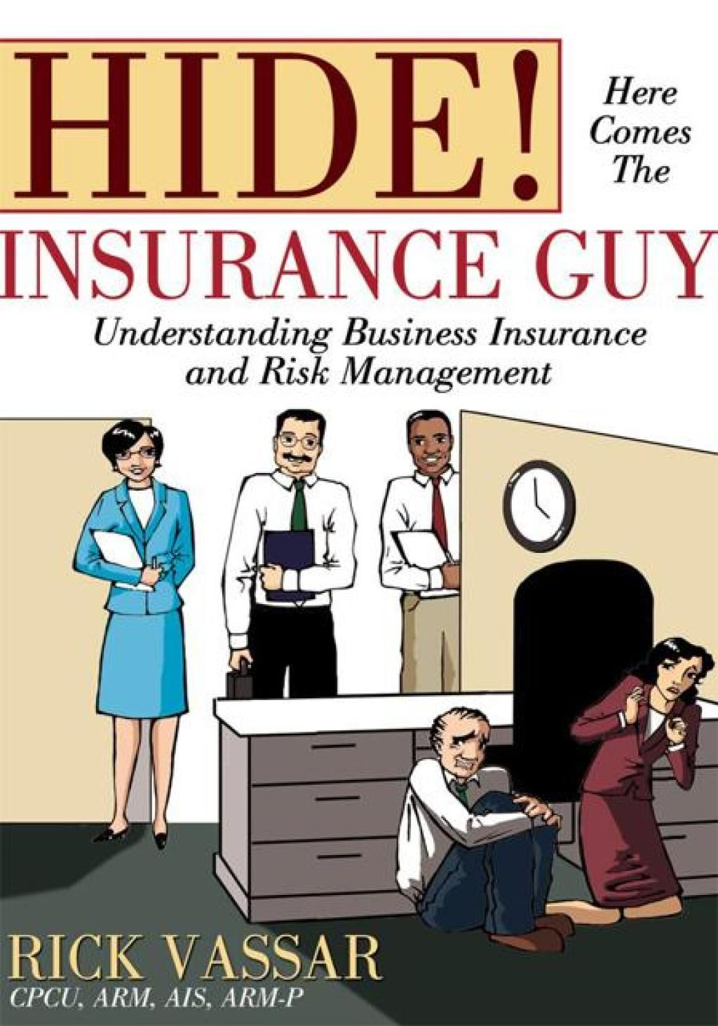 Hide here comes the insurance guy ebook business