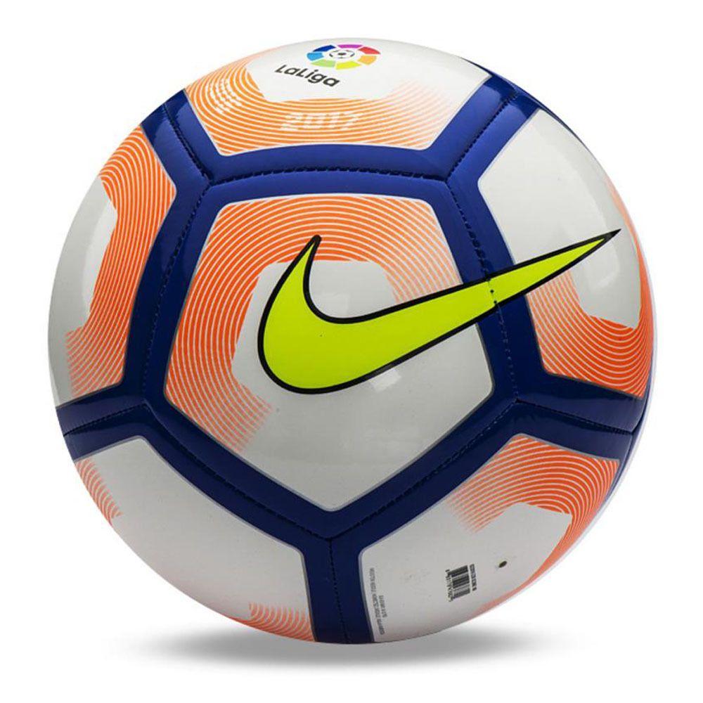 Nike16 17 Pitch La Liga Sports Football Soccer Ball Sc2992 100 Size 5 Air Pump Soccer Ball Soccer Sport Football