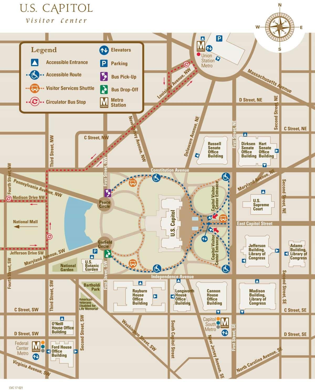 Maps Of Hotels In Washington Dc : hotels, washington, Capitol, National, Washington, Hotels