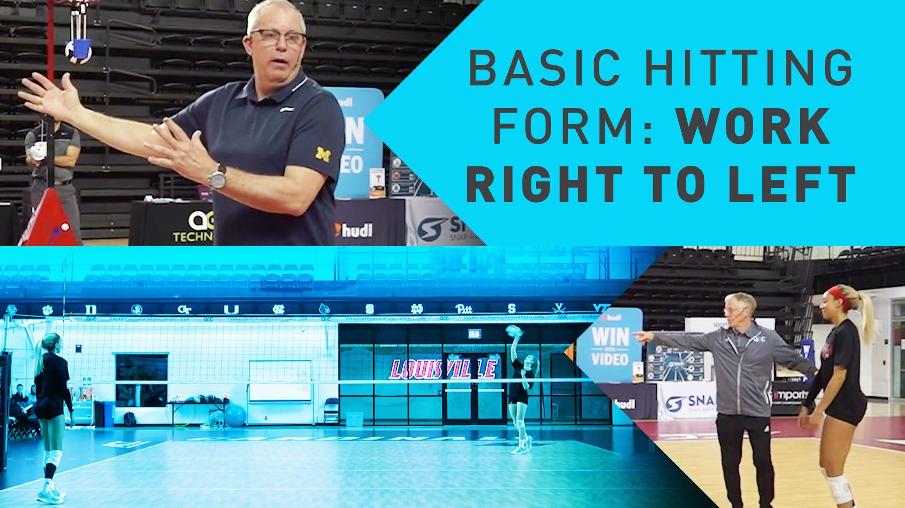 Basic Hitting Form Work Right To Left The Art Of Coaching Volleyball Coaching Volleyball Volleyball Drills Basic