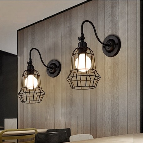 78.71$  Watch more here - http://ai9lv.worlditems.win/all/product.php?id=32544787619 - Antique Loft Style LED Wall Sconce Iron Vintage Wall Lamp Industrial Wall Light Fixtures For Home Lighting Lampe Murale