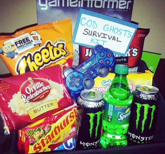 Video Game Survival Kit! Call Of Duty