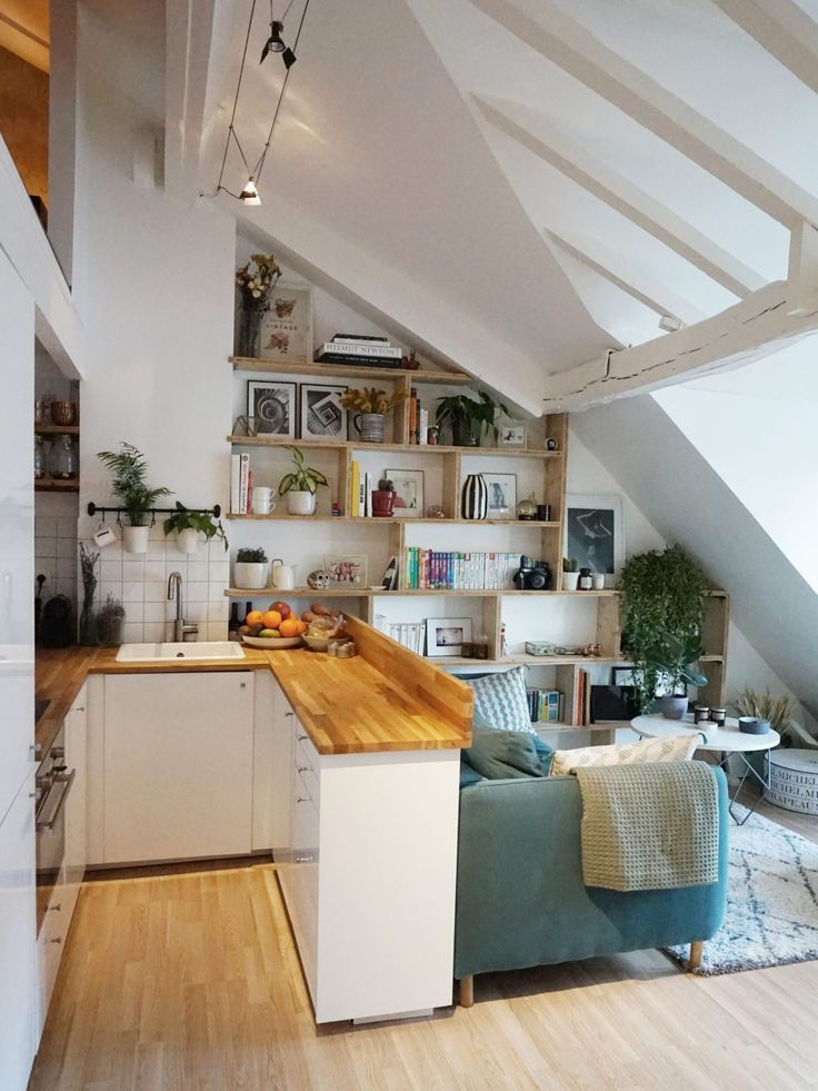 How to create an additional room in a small apartment in Paris #a ...  #additional #Apartment #create #decorationappartement #decorationforhome #diyhomeaccessories #diyInteriordesign #diykitchenideas #Paris